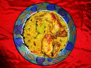 Chicken_Mandi_Rice_مندي_دجاج_